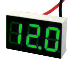 Индикатор напряжения ИН-12 Mini зелёный