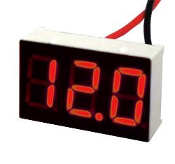 Индикатор напряжения ИН-12 Mini красный