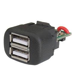 USB зарядное устройство для LADA 4x4, Kalina, Samara, 110 европанель