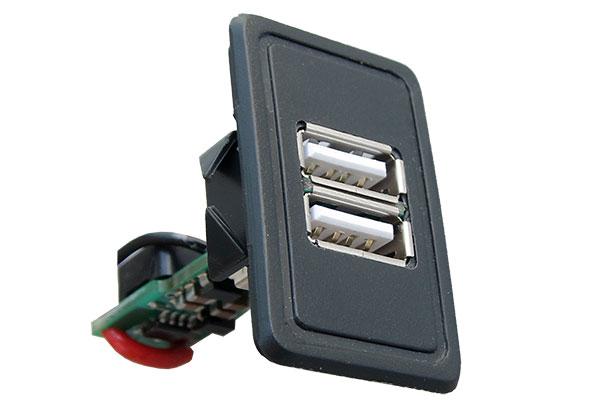 USB зарядное устройство для LADA 21083, 21093, 21099, Нива 21213, 21214, 2131 и 4х4