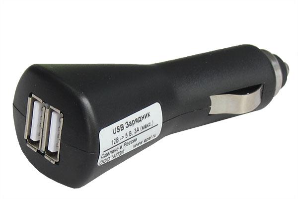 USB зарядное устройство от автомобильного прикуривателя