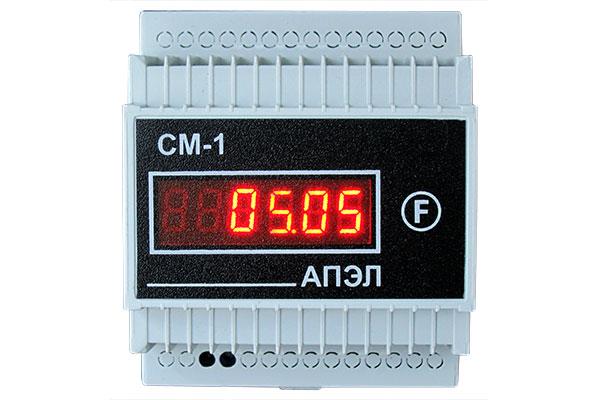 Счетчик моточасов СМ-1 в корпусе DIN