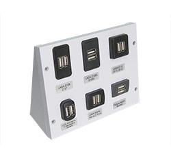 Стенд USB зарядных устройств